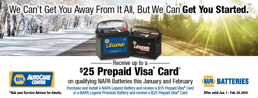 NAPA Winter Promo