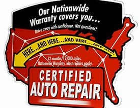 Certified Auto Repair – Nationwide